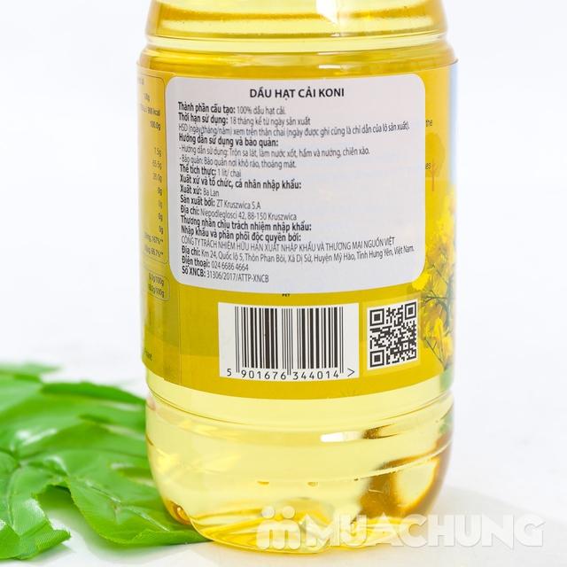 3 chai dầu hạt cải Koni nhập khẩu Ba Lan - 10