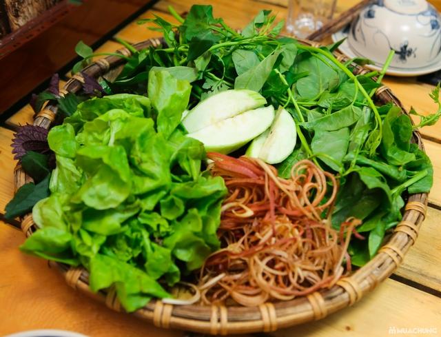Lẩu riêu cua đồng nấu mộc & món ăn kèm đầy đặn 4N - 12