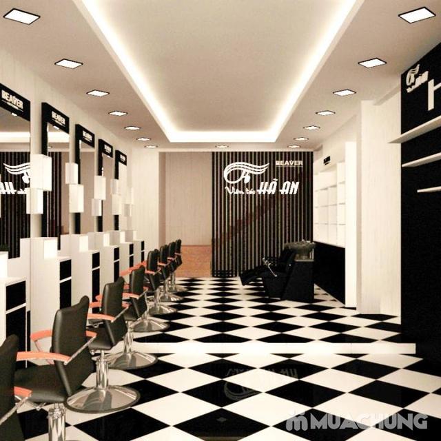 Làm tóc chất lượng nhất ưu đãi nhất, free giờ vàng Viện tóc Hà An - 7
