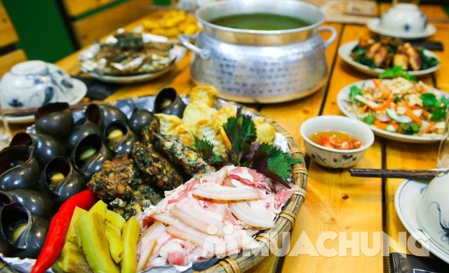 Lẩu ốc nấu xưa cùng nhiều món ăn kèm hấp dẫn dẫn  - 10