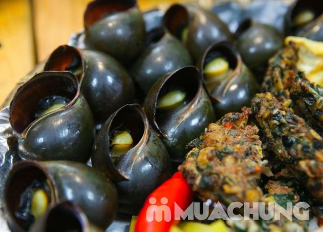 Lẩu ốc nấu xưa cùng nhiều món ăn kèm hấp dẫn dẫn  - 8