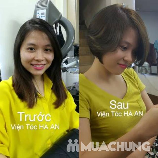 Làm tóc chất lượng nhất ưu đãi nhất, free giờ vàng Viện tóc Hà An - 4
