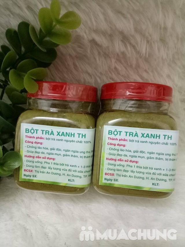 2 hộp bột trà xanh TH (100g/1 hộp) - 1