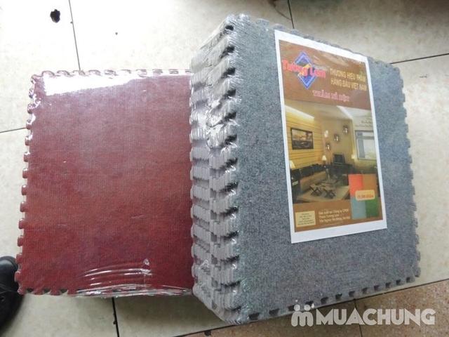 Thảm nỉ ghép nền Tường Lâm 40x40cm (15 miếng) - 4