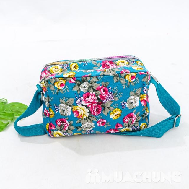 Túi hoa đeo chéo nhiều màu xinh xắn cho bạn gái - 12