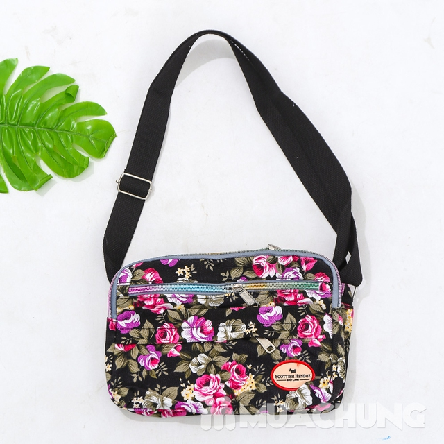 Túi hoa đeo chéo nhiều màu xinh xắn cho bạn gái - 16