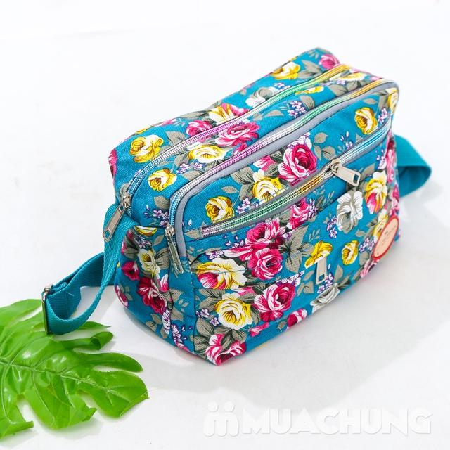 Túi hoa đeo chéo nhiều màu xinh xắn cho bạn gái - 11