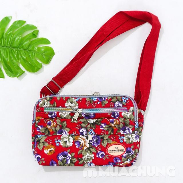 Túi hoa đeo chéo nhiều màu xinh xắn cho bạn gái - 14