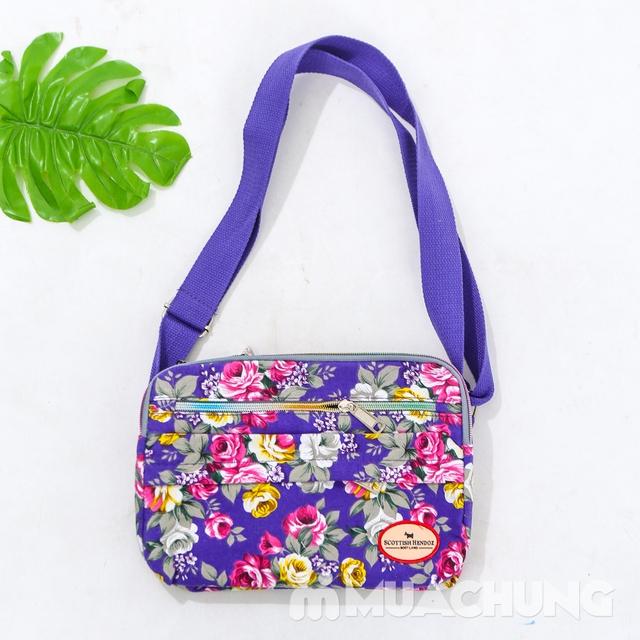 Túi hoa đeo chéo nhiều màu xinh xắn cho bạn gái - 17