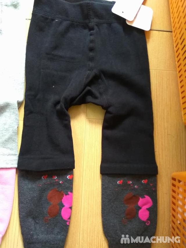 2 quần nối ống trẻ em ấm áp, dày dặn - 3