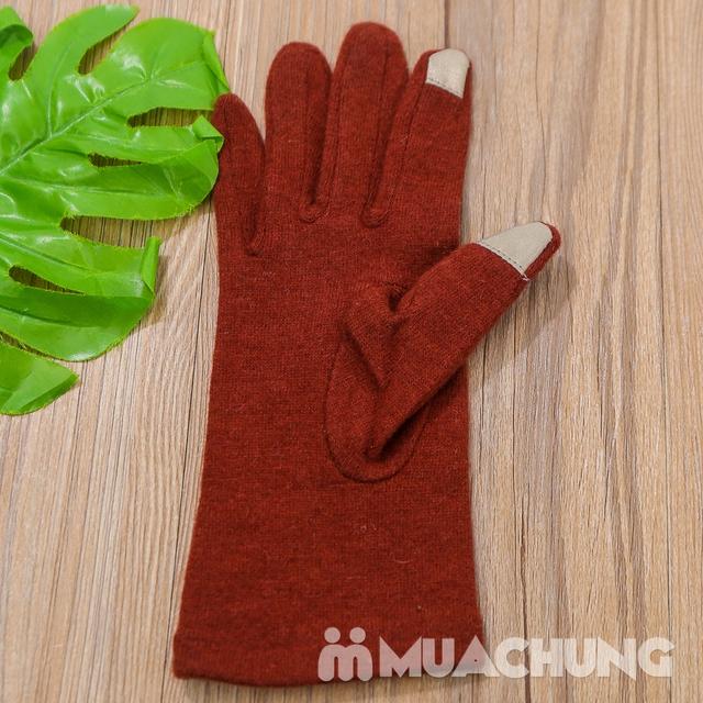 Găng tay nỉ giữ nhiệt cảm ứng tiện dụng - 13