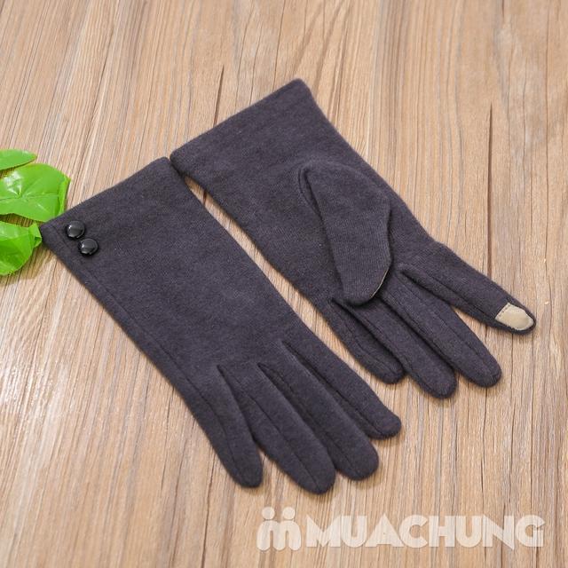 Găng tay nỉ giữ nhiệt cảm ứng tiện dụng - 9