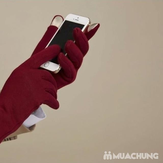 Găng tay nỉ giữ nhiệt cảm ứng tiện dụng - 8