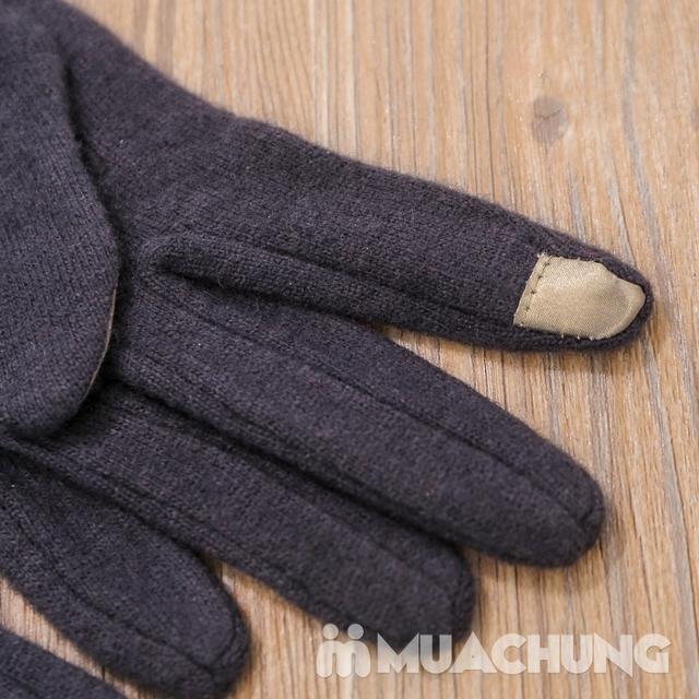 Găng tay nỉ giữ nhiệt cảm ứng tiện dụng - 12
