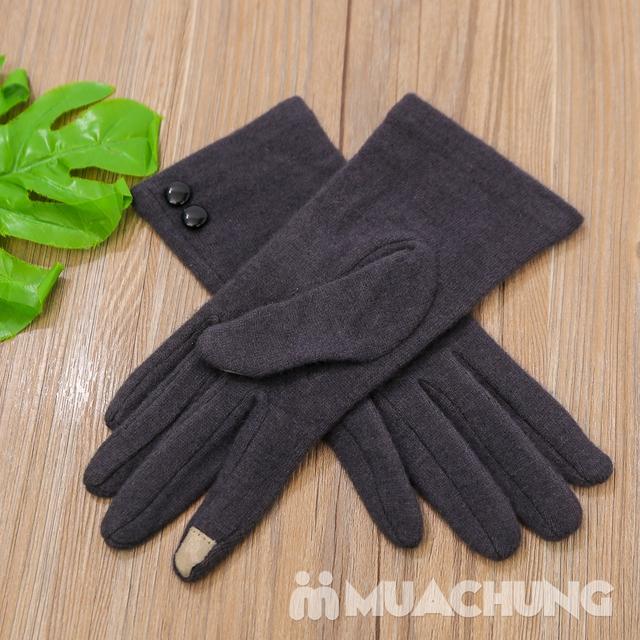 Găng tay nỉ giữ nhiệt cảm ứng tiện dụng - 10