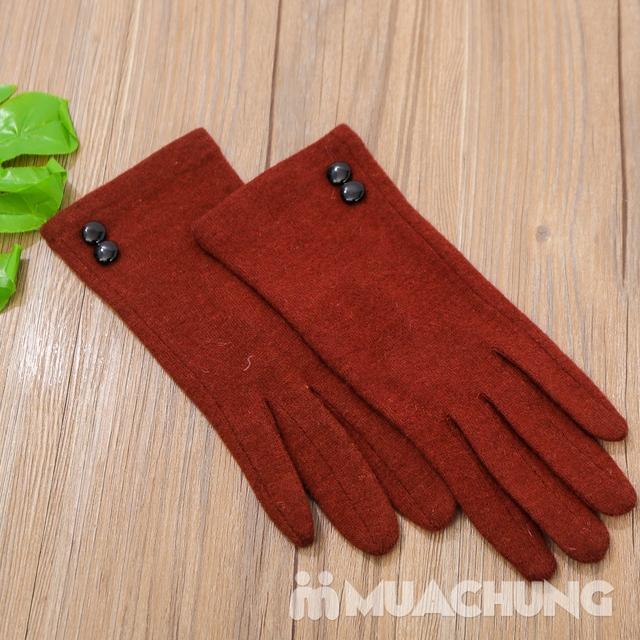 Găng tay nỉ giữ nhiệt cảm ứng tiện dụng - 14