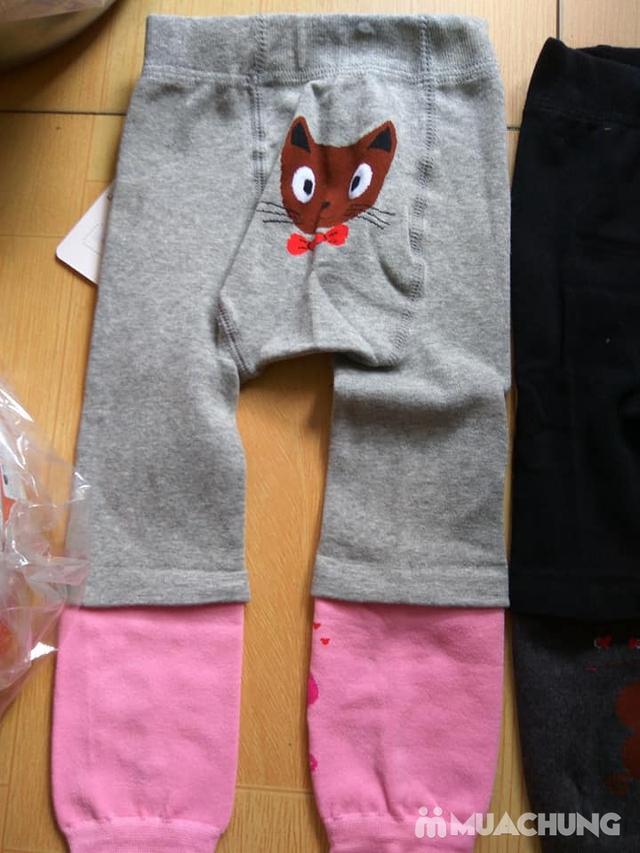 2 quần nối ống trẻ em ấm áp, dày dặn - 2