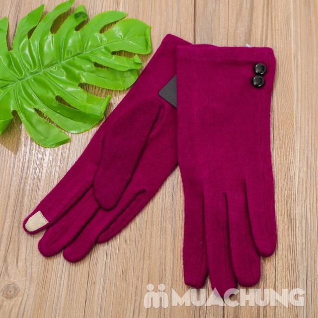 Găng tay nỉ giữ nhiệt cảm ứng tiện dụng - 16