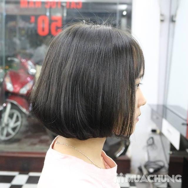 Trọn gói Nhuộm/ Ép/ Uốn chuyên sâu- R.C Hair Salon - 16
