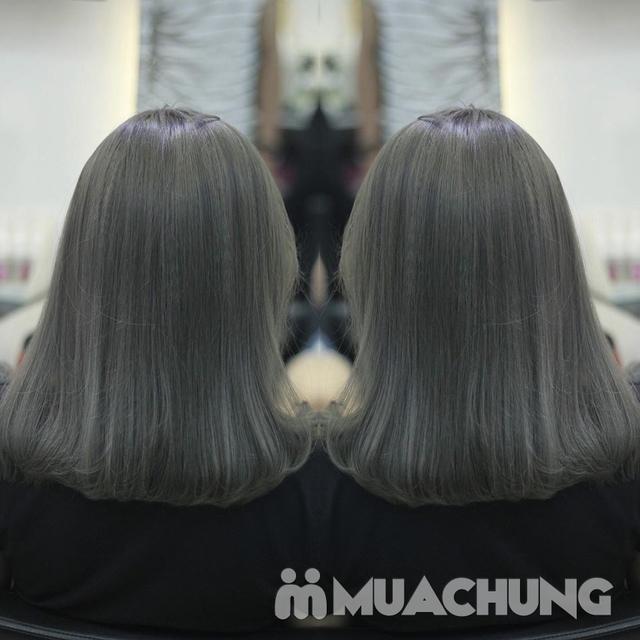 Trọn gói Nhuộm/ Ép/ Uốn chuyên sâu- R.C Hair Salon - 12