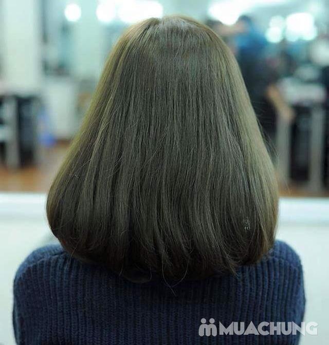Trọn gói Nhuộm/ Ép/ Uốn chuyên sâu- R.C Hair Salon - 13