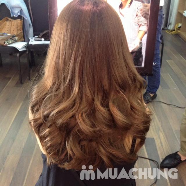 Trọn gói Nhuộm/ Ép/ Uốn chuyên sâu- R.C Hair Salon - 10