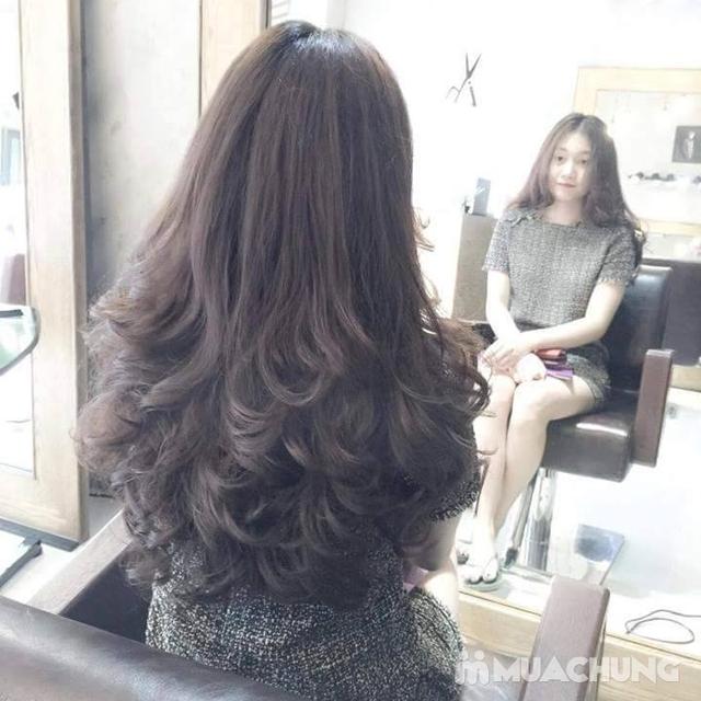 Trọn gói Nhuộm/ Ép/ Uốn chuyên sâu- R.C Hair Salon - 11