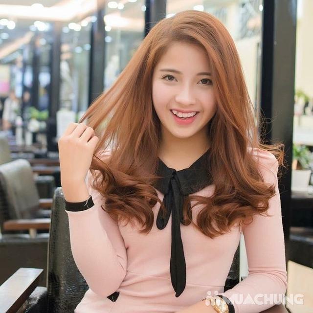 Trọn gói Nhuộm/ Ép/ Uốn chuyên sâu- R.C Hair Salon - 8