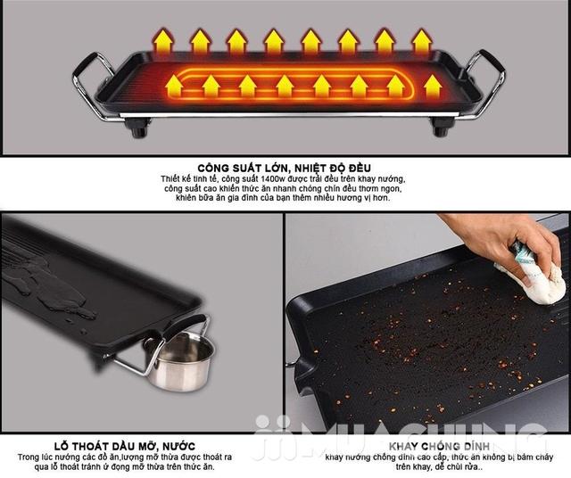 Bếp nướng điện không khói Comet CM5665 BH 12 tháng - 14
