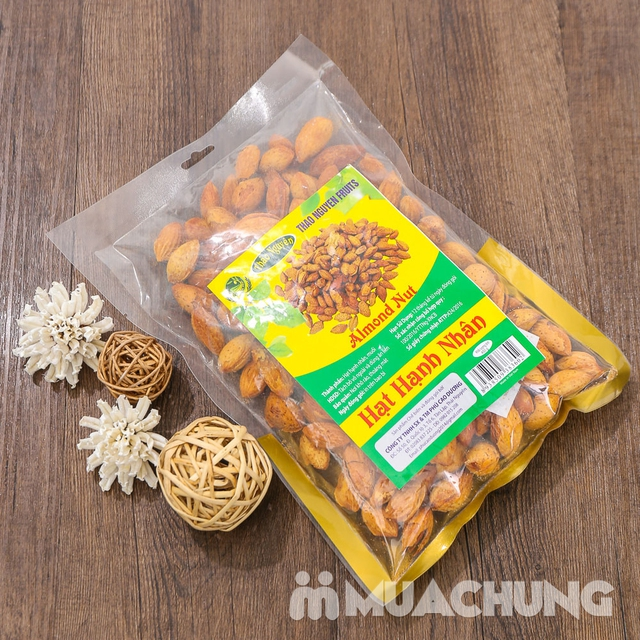 Gói 450g hạt hạnh nhân thơm, bùi Thảo Nguyên - 5