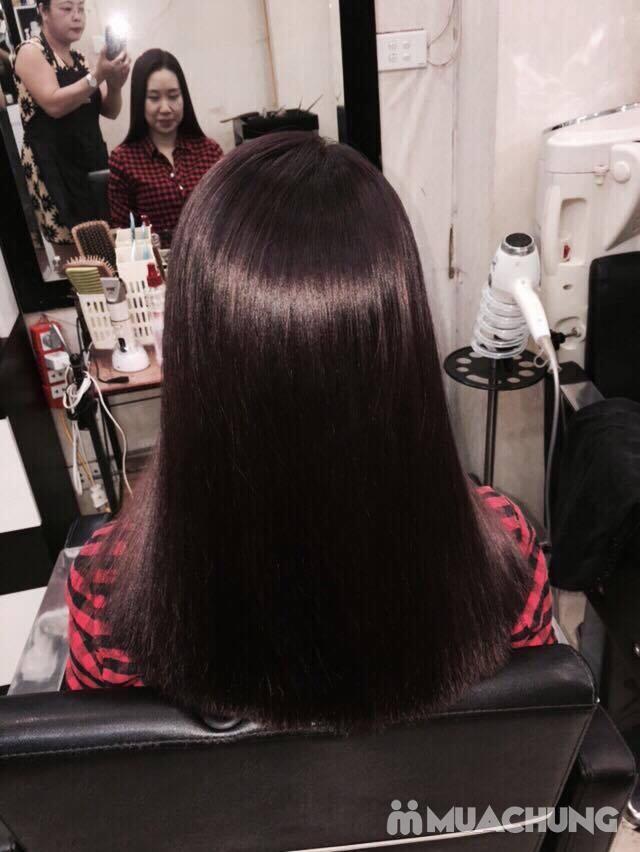 nhuộm nano của hàn quốc phục hồi cho tóc khô trở lại mềm mượt tại NhungTresses - 3