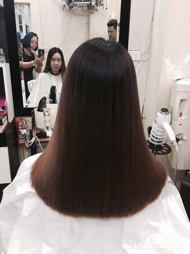 nhuộm nano của hàn quốc phục hồi cho tóc khô trở lại mềm mượt tại NhungTresses - 2