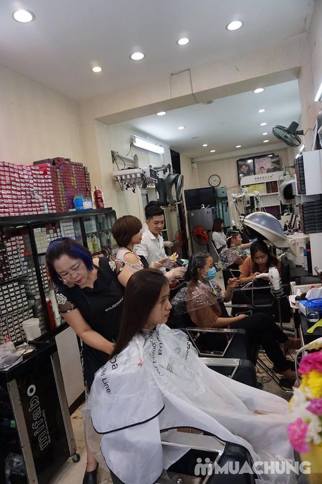 nhuộm nano của hàn quốc phục hồi cho tóc khô trở lại mềm mượt tại NhungTresses - 7