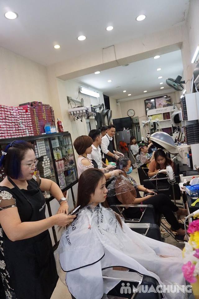 nhuộm nano của hàn quốc phục hồi cho tóc khô trở lại mềm mượt tại NhungTresses - 6