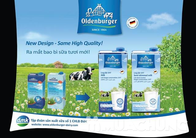 6 hộp sữa Oldenberger full kem 3.5% 1L NK Đức - 13
