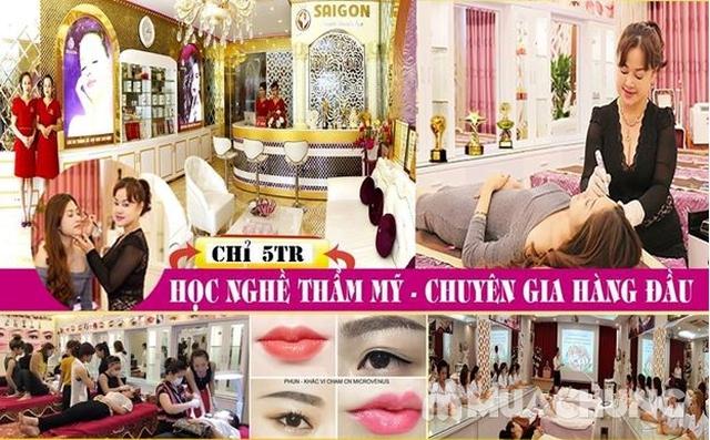 Học nghề thẩm mỹ cực HOT - Nghề vàng cho giới trẻ Sài Gòn Beauty & Spa - 6