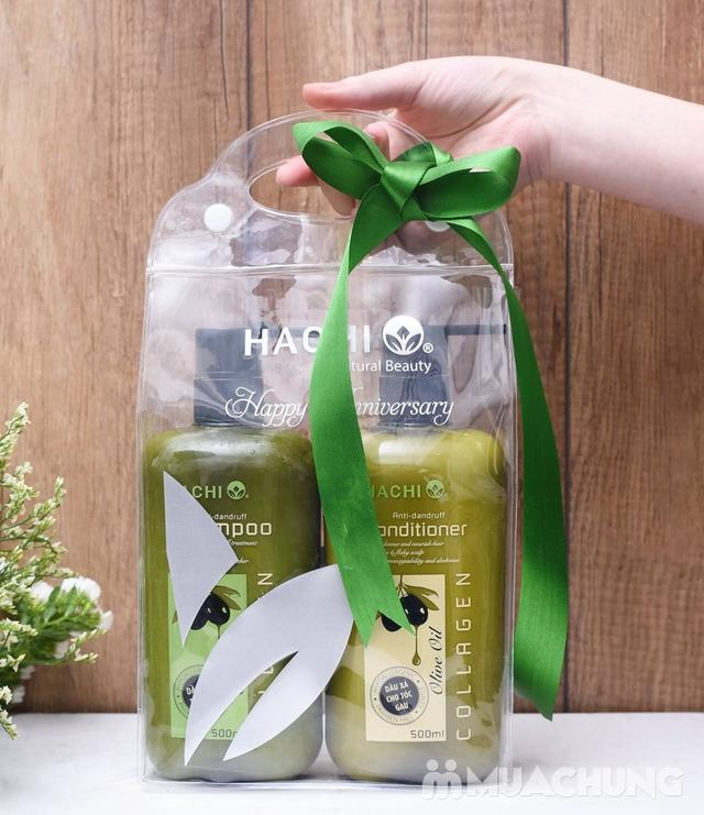 Cặp dầu gội & xả Hachi đặc trị cho các loại tóc  - 7