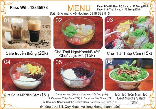 Voucher ăn chè thỏa thích tại Nhà hàng Chè 4 Hào - 2