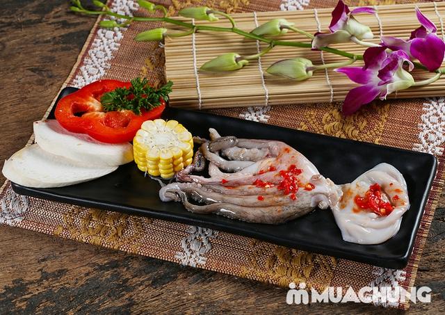 Buffet nướng lẩu Thái BBQ Lê Văn Lương menu VIP - 16