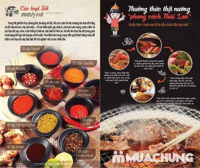 Buffet nướng lẩu Thái BBQ Lê Văn Lương menu VIP - 39