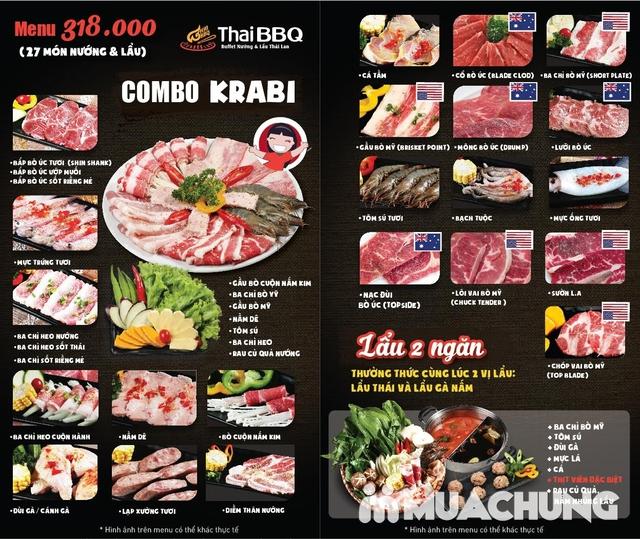 Buffet nướng lẩu Thái BBQ Lê Văn Lương menu VIP - 37