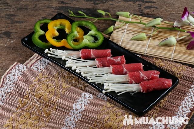 Buffet nướng lẩu Thái BBQ Lê Văn Lương menu VIP - 8