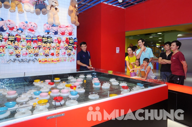 Khám phá khu vui chơi trẻ em tại Amazing Town - 7