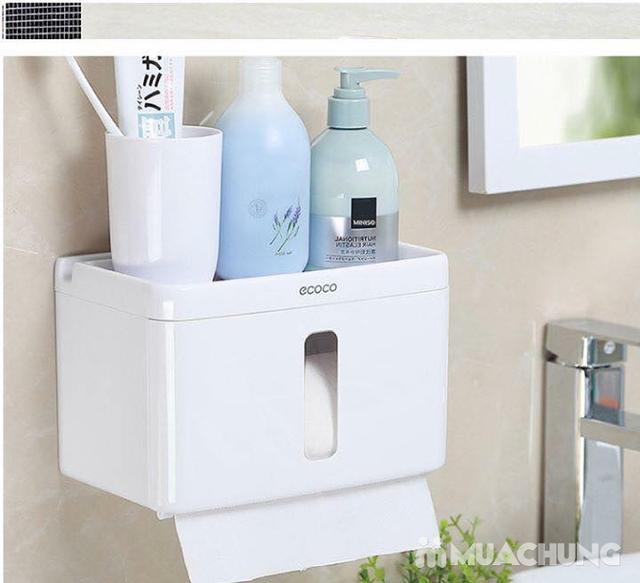 Giá treo giấy vệ sinh đa năng Ecoco tiện dụng - 5