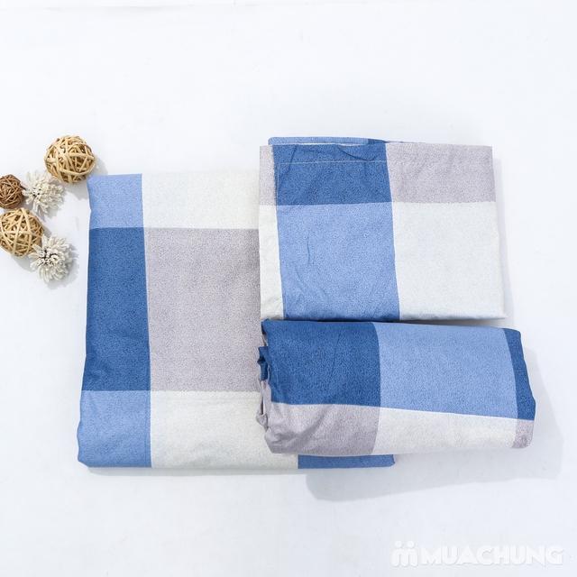 Bộ chăn, gối, ga chun cotton poly 1m8 x 2m - 7