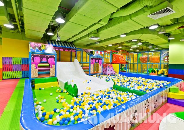 Khám phá khu vui chơi trẻ em tại Amazing Town - 24