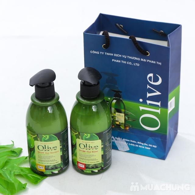 Bộ dầu gội & xả Olive Romantic mini 250ml/chai - 4
