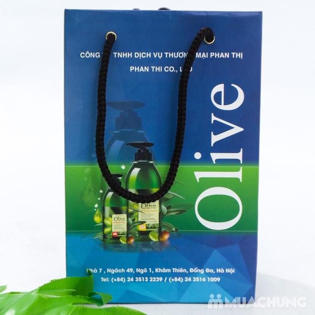 Bộ dầu gội & xả Olive Romantic mini 250ml/chai - 5