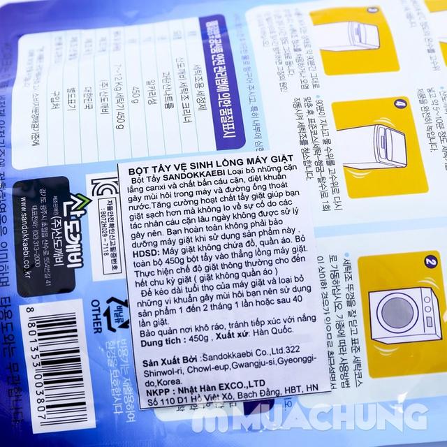 2 túi bột tẩy vệ sinh lồng máy giặt Sandokkaebi - 2