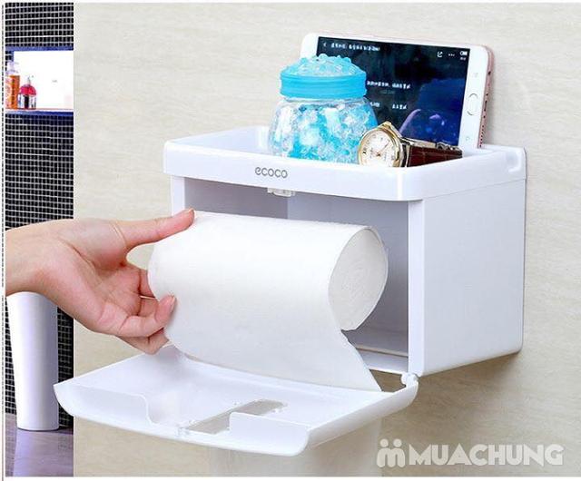 Giá treo giấy vệ sinh đa năng Ecoco tiện dụng - 6